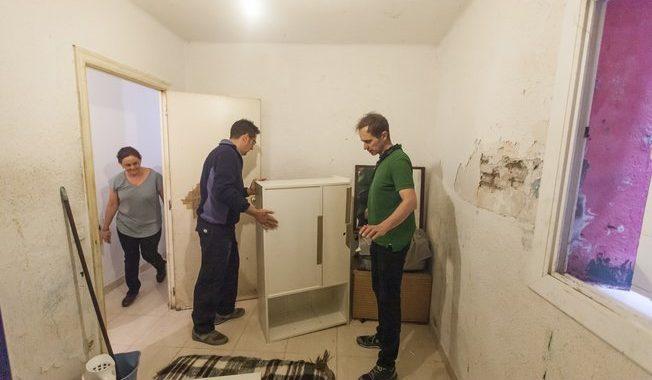 El 'Esta casa era una ruina' de las familias en riesgo de exclusión social
