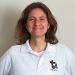 Voluntaria Rebeca Domínguez